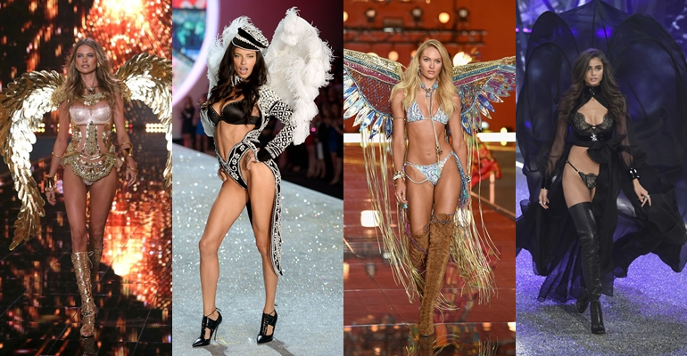 Behati Prinsloo, Adriana Lima, Candice Swanepoel a Taylor Hill